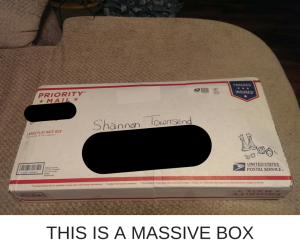 THIS IS A MASSIVE BOX